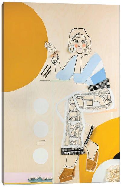 Her XV Canvas Art Print