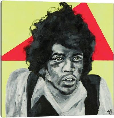 Jimi Canvas Art Print