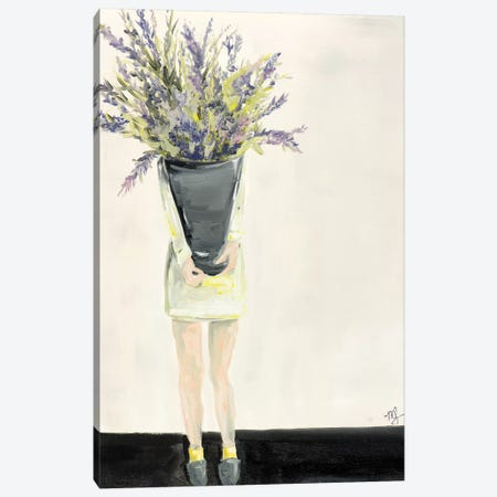 Lavender Canvas Print #MDS26} by Meredith Steele Canvas Print
