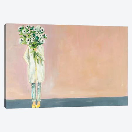 Anemone Canvas Print #MDS2} by Meredith Steele Canvas Wall Art