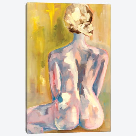 Nude III Canvas Print #MDS31} by Meredith Steele Canvas Art Print