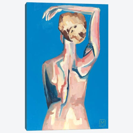 Nude X Canvas Print #MDS34} by Meredith Steele Canvas Art