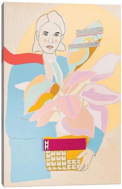 Plant Lady I Canvas Art Print