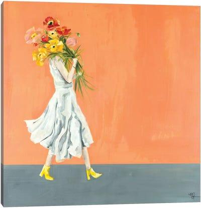 Poppy II Canvas Art Print