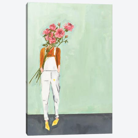 Rose Canvas Print #MDS42} by Meredith Steele Canvas Art