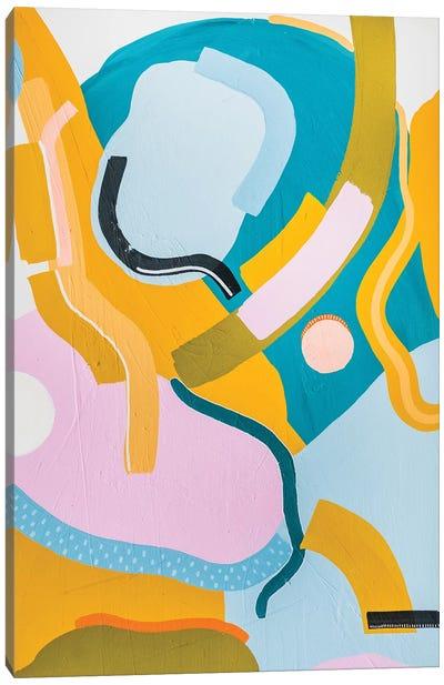 Shape Play II Canvas Art Print
