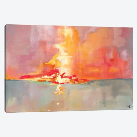 Sunset I Canvas Print #MDS45} by Meredith Steele Canvas Art Print