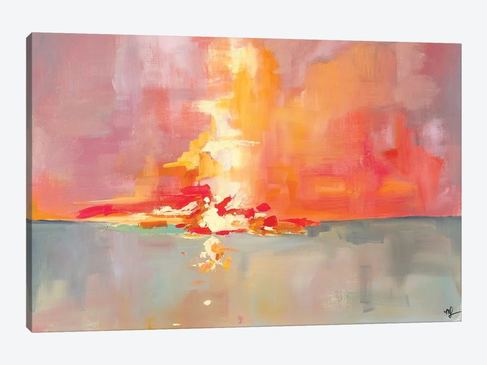 Sunset I by Meredith Steele 1-piece Canvas Print