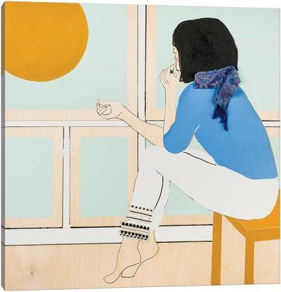 Window Woman II Canvas Art Print