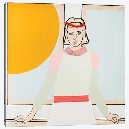 Window Woman III Canvas Print #MDS49} by Meredith Steele Canvas Artwork