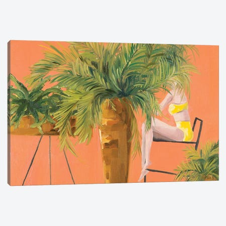 Fern Canvas Print #MDS9} by Meredith Steele Canvas Wall Art