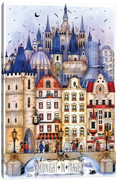Midnight In Prague Canvas Art Print