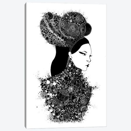 She's A Lady Canvas Print #MDT32} by Madalina Tantareanu Canvas Wall Art