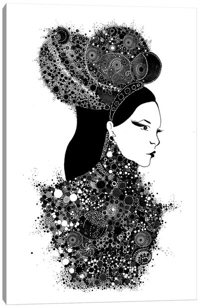 She's A Lady Canvas Art Print