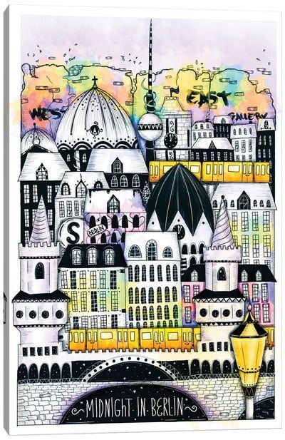 Midnight In Berlin Canvas Art Print