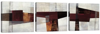 Longcut Triptych Canvas Art Print