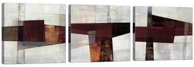 Longcut Triptych Canvas Art Print