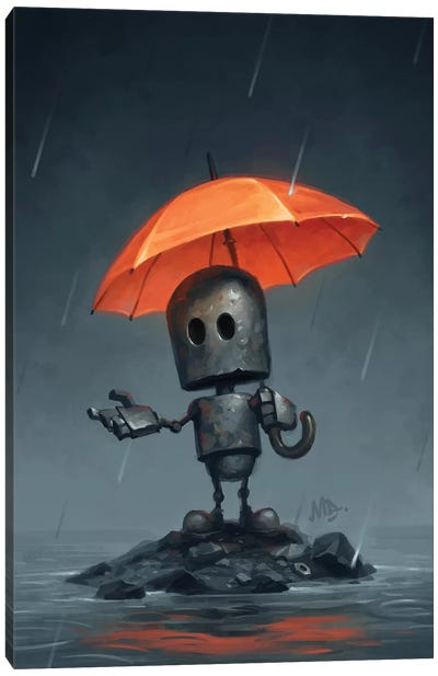 The Rainy Season Canvas Art Print