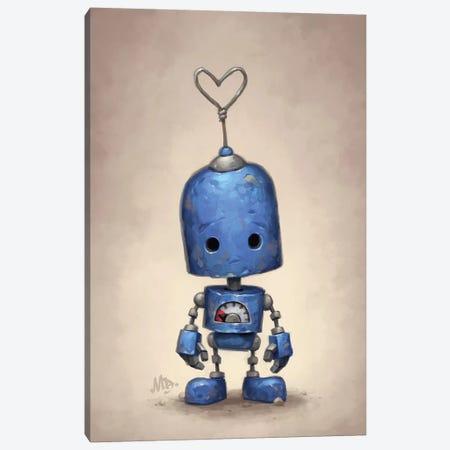 Blue Canvas Print #MDX1} by Matt Dixon Canvas Art Print