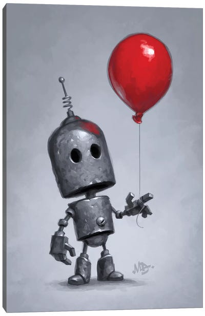 The Red Balloon Canvas Art Print
