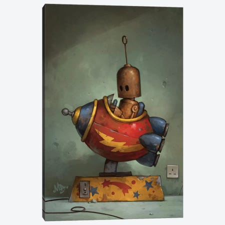 To Boldly Go Canvas Print #MDX23} by Matt Dixon Canvas Art Print