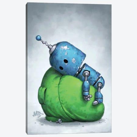 Low Battery Canvas Print #MDX27} by Matt Dixon Canvas Artwork