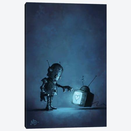 Contact Canvas Print #MDX3} by Matt Dixon Art Print