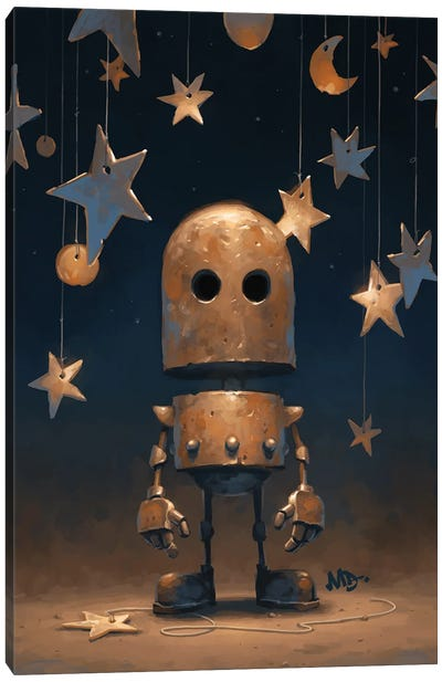 Ad Astra Canvas Art Print