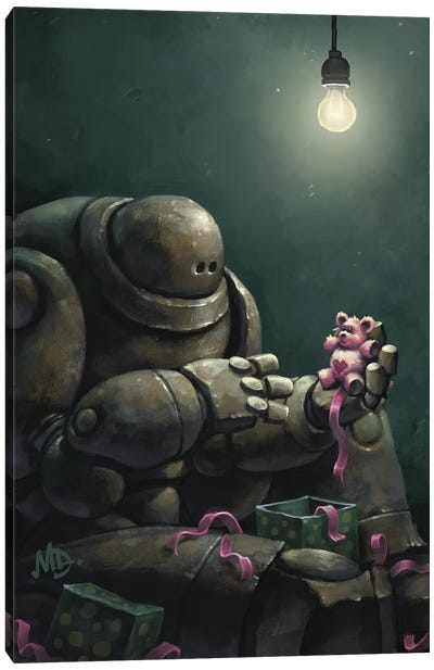 Gortron's Christmas Wish Canvas Art Print