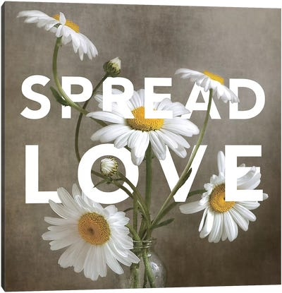 Spread Love Canvas Art Print
