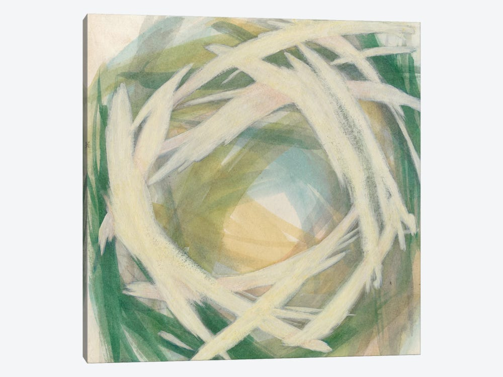 Brushstrokes II by Megan Meagher 1-piece Canvas Print