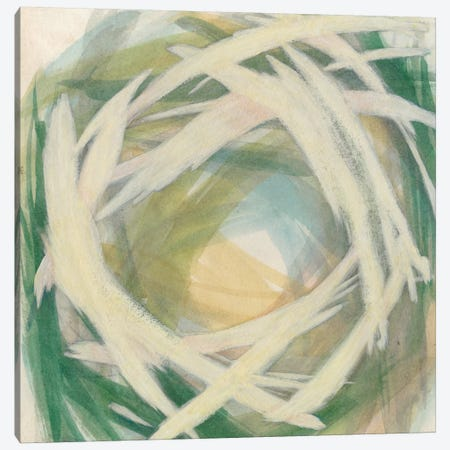 Brushstrokes II Canvas Print #MEA12} by Megan Meagher Canvas Art