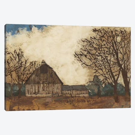 Erstwhile Barn I Canvas Print #MEA13} by Megan Meagher Canvas Art