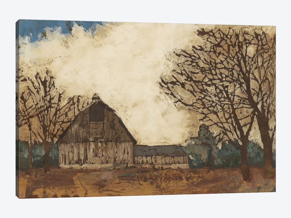 Erstwhile Barn I by Megan Meagher 1-piece Canvas Artwork
