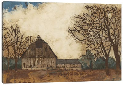 Erstwhile Barn I Canvas Art Print