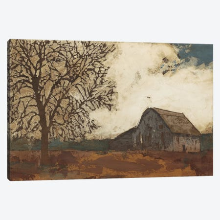 Erstwhile Barn II Canvas Print #MEA14} by Megan Meagher Art Print