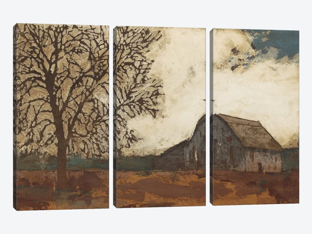Erstwhile Barn II by Megan Meagher 3-piece Art Print