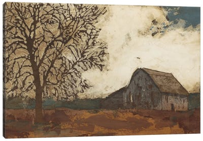 Erstwhile Barn II Canvas Art Print