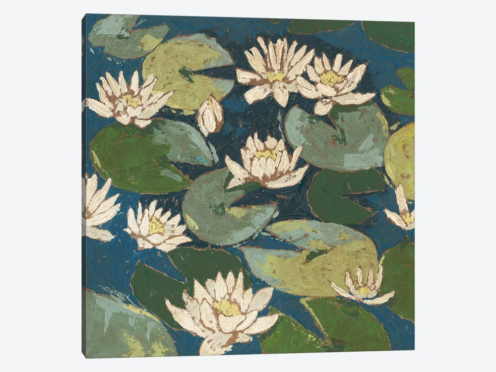 Water Flowers I by Megan Meagher 1-piece Art Print