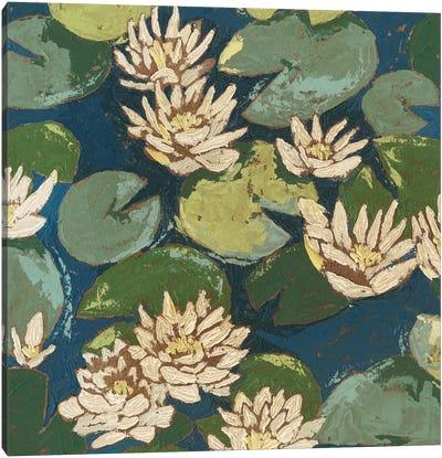 Water Flowers II Canvas Print #MEA19