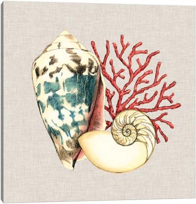 By The Seashore I Canvas Art Print