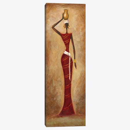 Elegance Canvas Print #MEA23} by Megan Meagher Art Print