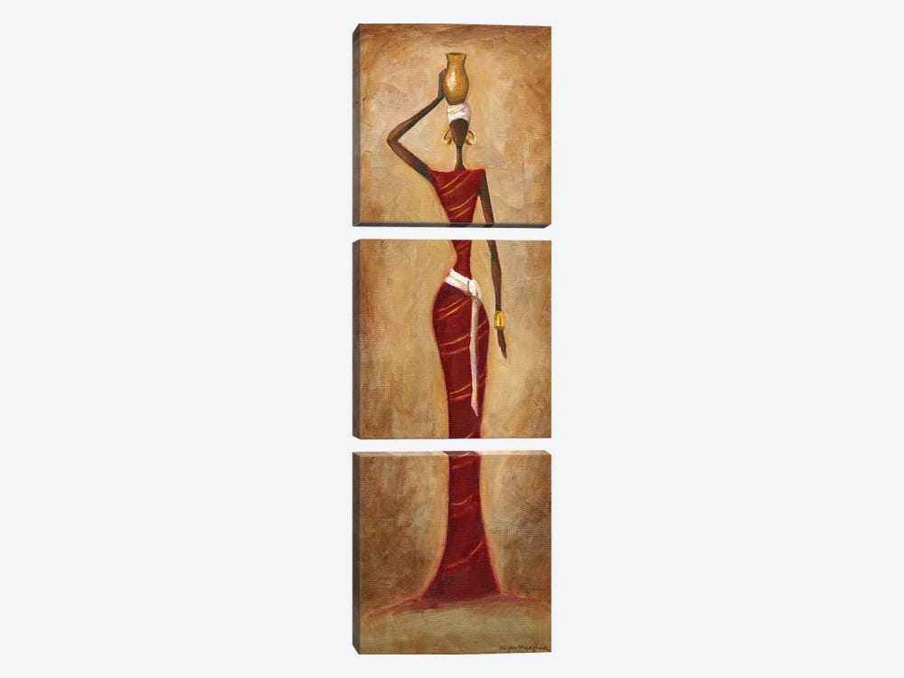 Elegance by Megan Meagher 3-piece Canvas Art Print