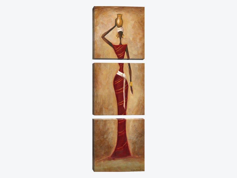Elegance by Megan Meagher 3-piece Canvas Art Print