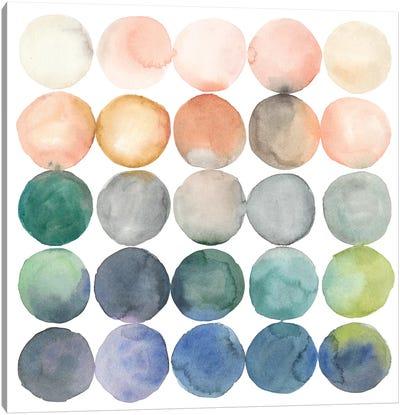 Color Relationships I Canvas Print #MEA26