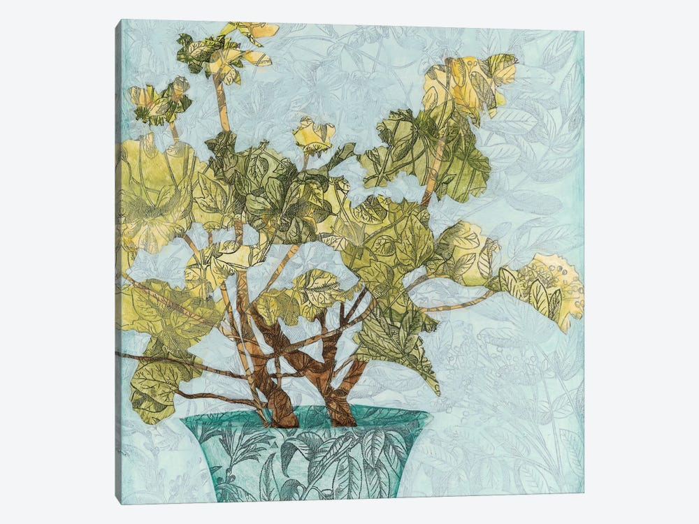 Conservatory Collage I by Megan Meagher 1-piece Canvas Wall Art