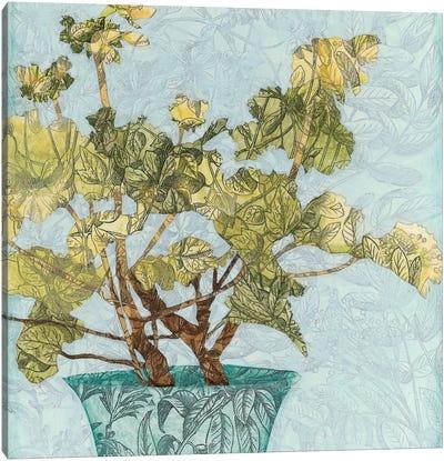 Conservatory Collage I Canvas Art Print