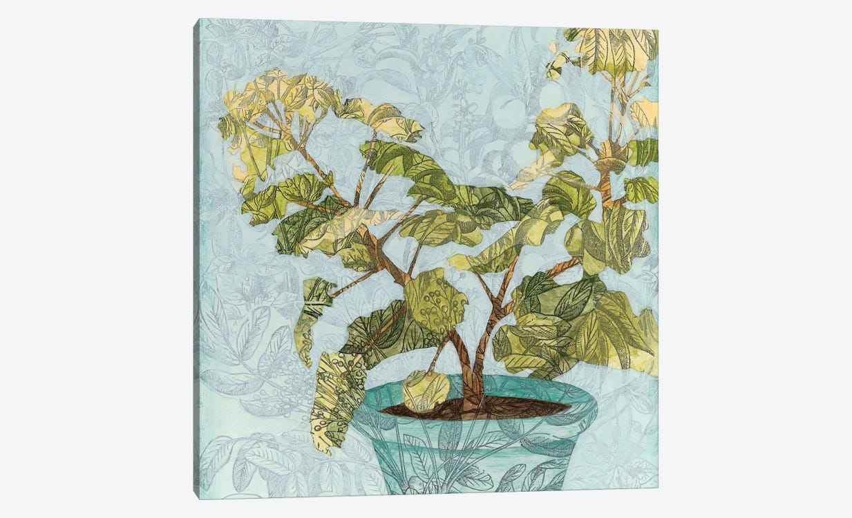 Conservatory Collage II by Megan Meagher 1-piece Canvas Art Print
