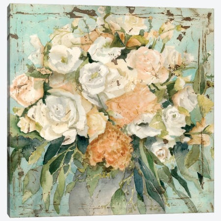 Vintage Arrangement I Canvas Print #MEA36} by Megan Meagher Canvas Print