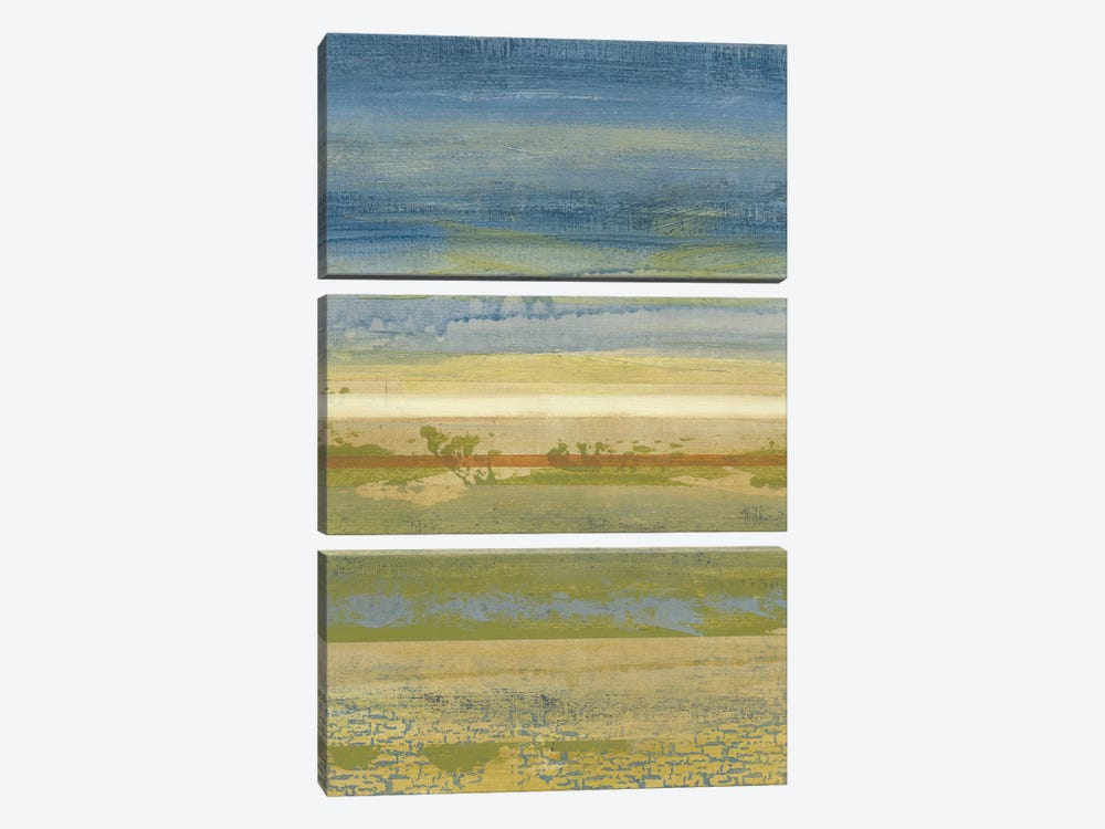 Sky & Earth II by Megan Meagher 3-piece Canvas Art Print